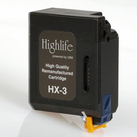 Auf dem Bild sehen Sie den ArtikelBX-3 von Canon. Dieses Tintenpatrone Modell eignet sich für das Recycling und wird daher angekauft.