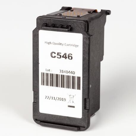 Auf dem Bild sehen Sie den ArtikelCL-546 von Canon. Dieses Tintenpatrone Modell eignet sich für das Recycling und wird daher angekauft.