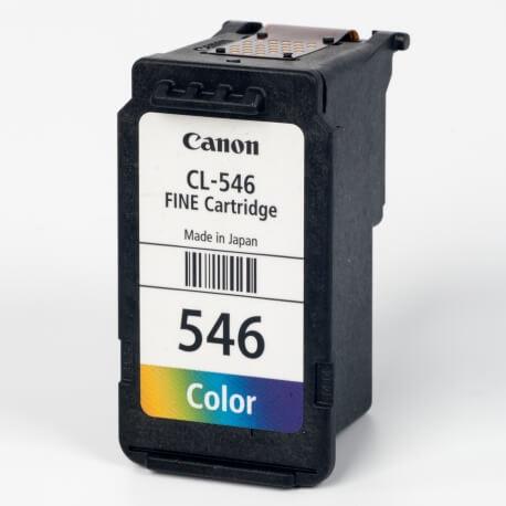 Auf dem Bild sehen Sie den ArtikelCL-546 von Canon. Dieses Tintenpatrone Modell eignet sich für die Wiederaufbereitung und wird daher zum Recycling angekauft.