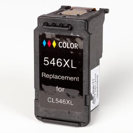 Auf dem Bild sehen Sie den ArtikelCL-546XL von Canon. Dieses Tintenpatrone Modell eignet sich für das Recycling und wird daher angekauft.