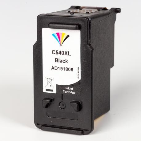 Auf dem Bild sehen Sie den ArtikelPG-540 von Canon. Dieses Tintenpatrone Modell eignet sich für das Recycling und wird daher angekauft.