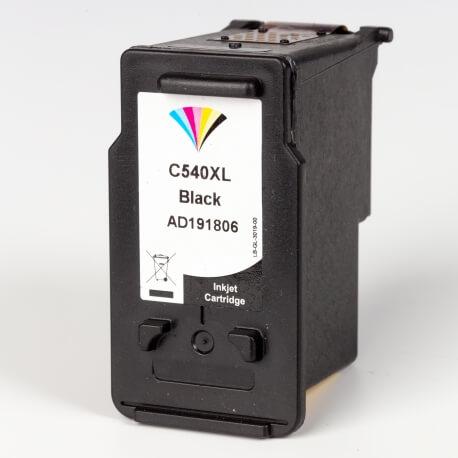 Auf dem Bild sehen Sie den ArtikelPG-540XL von Canon. Dieses Tintenpatrone Modell eignet sich für das Recycling und wird daher angekauft.