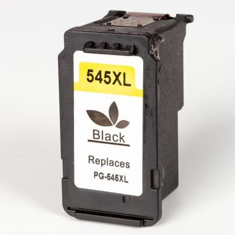 Auf dem Bild sehen Sie den ArtikelPG-545XL von Canon. Dieses Tintenpatrone Modell eignet sich für das Recycling und wird daher angekauft.