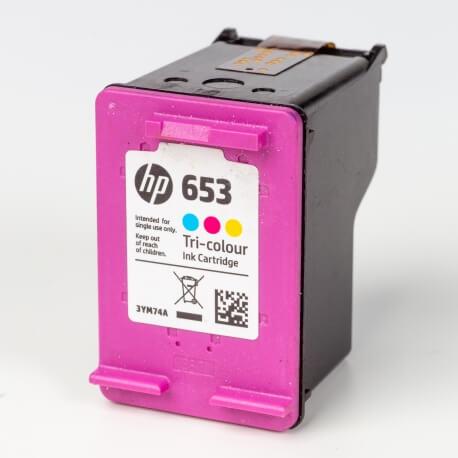 Auf dem Bild sehen Sie den Artikel3YM74AE von Hewlett-Packard. Dieses Tintenpatrone Modell eignet sich für die Wiederaufbereitung und wird daher zum Recycling angekauft.