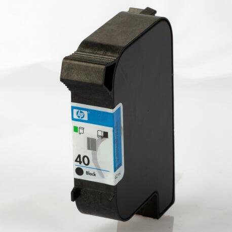 Auf dem Bild sehen Sie den Artikel51640A von Hewlett-Packard. Dieses Tintenpatrone Modell eignet sich für die Wiederaufbereitung und wird daher zum Recycling angekauft.