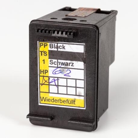 Auf dem Bild sehen Sie den ArtikelC2P04AE von Hewlett-Packard. Dieses Tintenpatrone Modell eignet sich für das Recycling und wird daher angekauft.