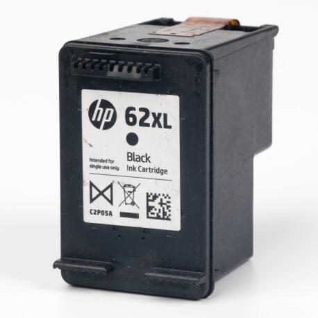 Auf dem Bild sehen Sie den ArtikelC2P05AE von Hewlett-Packard. Dieses Tintenpatrone Modell eignet sich für die Wiederaufbereitung und wird daher zum Recycling angekauft.