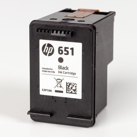 Auf dem Bild sehen Sie den ArtikelC2P10AE von Hewlett-Packard. Dieses Tintenpatrone Modell eignet sich für die Wiederaufbereitung und wird daher zum Recycling angekauft.