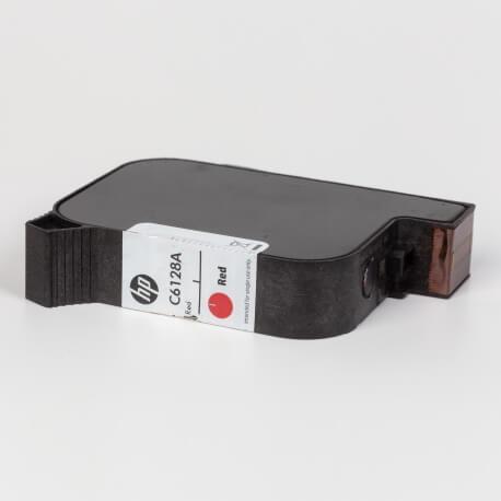Auf dem Bild sehen Sie den ArtikelC6128A von Hewlett-Packard. Dieses Tintenpatrone Modell eignet sich für die Wiederaufbereitung und wird daher zum Recycling angekauft.