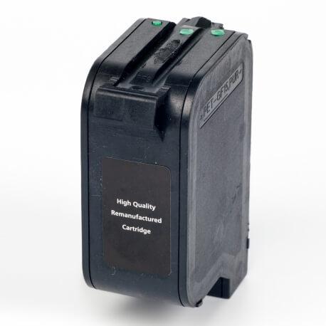Auf dem Bild sehen Sie den ArtikelC6625A von Hewlett-Packard. Dieses Tintenpatrone Modell eignet sich für das Recycling und wird daher angekauft.
