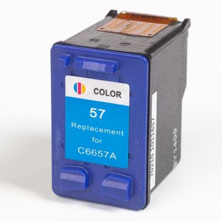 Auf dem Bild sehen Sie den ArtikelC6657G XS von Hewlett-Packard. Dieses Tintenpatrone Modell eignet sich für das Recycling und wird daher angekauft.