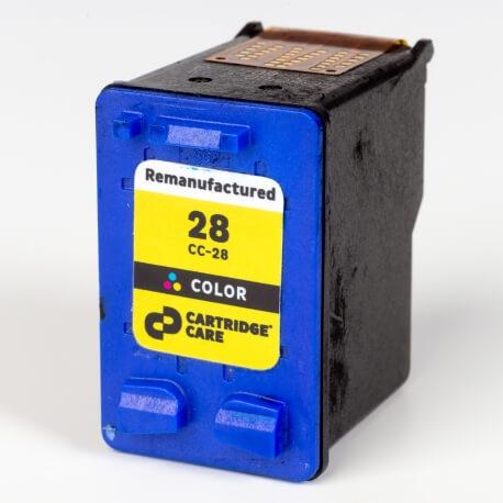 Auf dem Bild sehen Sie den ArtikelC8728A von Hewlett-Packard. Dieses Tintenpatrone Modell eignet sich für das Recycling und wird daher angekauft.