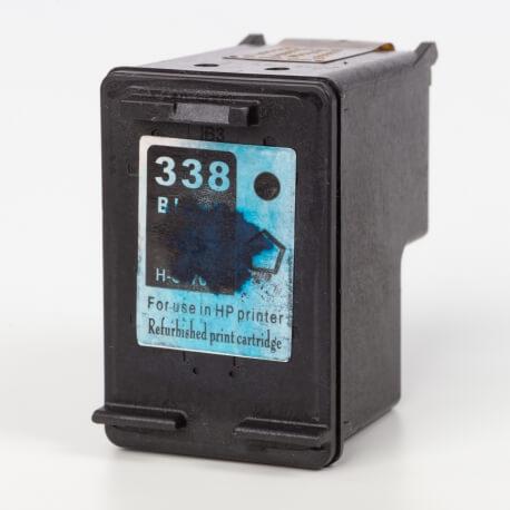 Auf dem Bild sehen Sie den Artikel C8765EE von Hewlett-Packard. Dieses Tintenpatrone Modell eignet sich für das Recycling und wird daher angekauft.