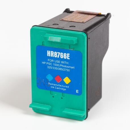 Auf dem Bild sehen Sie den Artikel C8766EE von Hewlett-Packard. Dieses Tintenpatrone Modell eignet sich für das Recycling und wird daher angekauft.