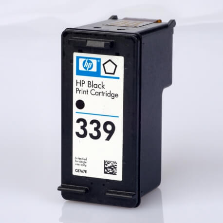Auf dem Bild sehen Sie den ArtikelC8767EE von Hewlett-Packard. Dieses Tintenpatrone Modell eignet sich für die Wiederaufbereitung und wird daher zum Recycling angekauft.