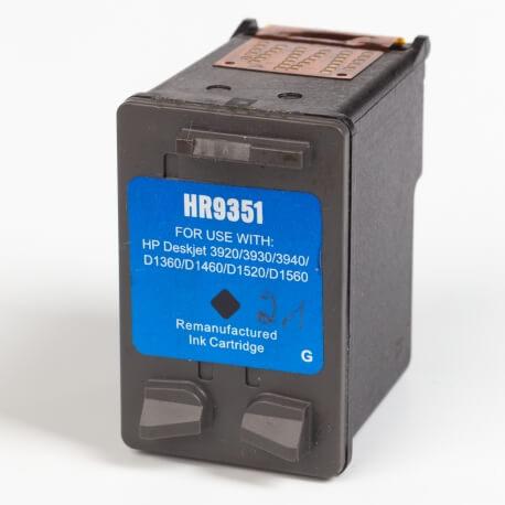 Auf dem Bild sehen Sie den ArtikelC9351A XS von Hewlett-Packard. Dieses Tintenpatrone Modell eignet sich für das Recycling und wird daher angekauft.