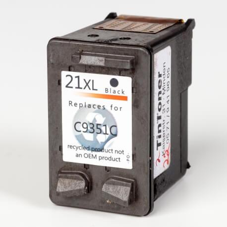 Auf dem Bild sehen Sie den ArtikelC9351C von Hewlett-Packard. Dieses Tintenpatrone Modell eignet sich für das Recycling und wird daher angekauft.