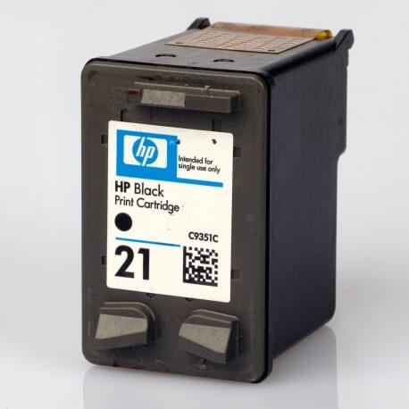 Auf dem Bild sehen Sie den Artikel C9351C von Hewlett-Packard. Dieses Tintenpatrone Modell eignet sich für die Wiederaufbereitung und wird daher zum Recycling angekauft.
