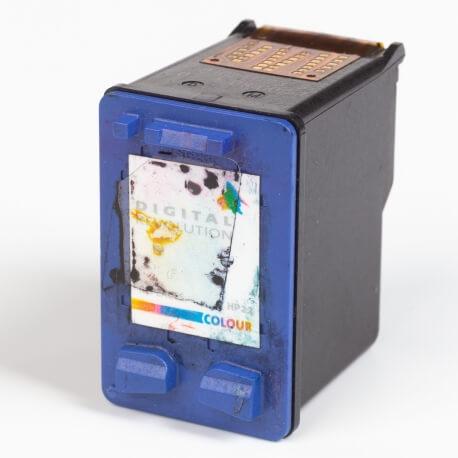 Auf dem Bild sehen Sie den ArtikelC9352A XS von Hewlett-Packard. Dieses Tintenpatrone Modell eignet sich für das Recycling und wird daher angekauft.