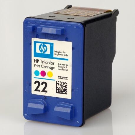 Auf dem Bild sehen Sie den Artikel C9352C von Hewlett-Packard. Dieses Tintenpatrone Modell eignet sich für die Wiederaufbereitung und wird daher zum Recycling angekauft.