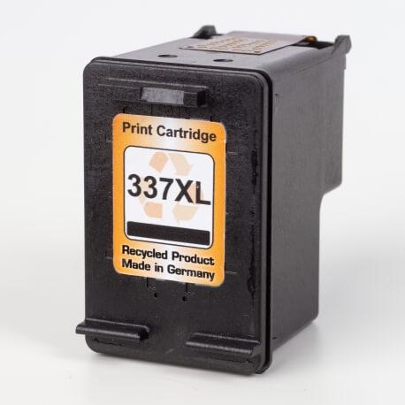 Auf dem Bild sehen Sie den ArtikelC9364EE von Hewlett-Packard. Dieses Tintenpatrone Modell eignet sich für das Recycling und wird daher angekauft.