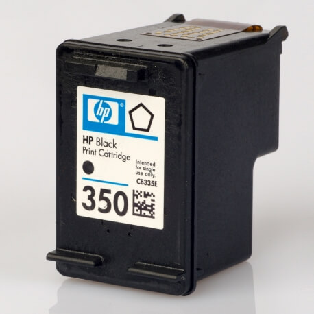 Auf dem Bild sehen Sie den ArtikelCB335EE von Hewlett-Packard. Dieses Tintenpatrone Modell eignet sich für die Wiederaufbereitung und wird daher zum Recycling angekauft.