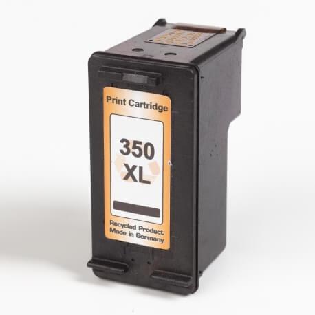 Auf dem Bild sehen Sie den ArtikelCB336EE von Hewlett-Packard. Dieses Tintenpatrone Modell eignet sich für das Recycling und wird daher angekauft.