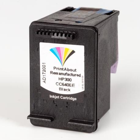 Auf dem Bild sehen Sie den Artikel CC640EE von Hewlett-Packard. Dieses Tintenpatrone Modell eignet sich für das Recycling und wird daher angekauft.