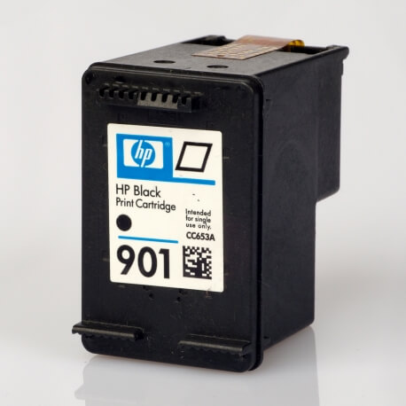 Auf dem Bild sehen Sie den ArtikelCC653AE von Hewlett-Packard. Dieses Tintenpatrone Modell eignet sich für die Wiederaufbereitung und wird daher zum Recycling angekauft.