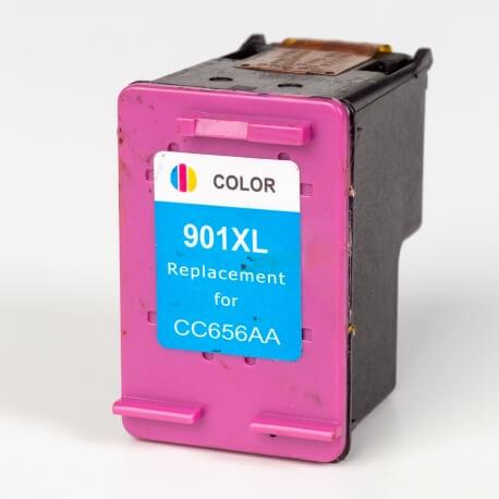 Auf dem Bild sehen Sie den Artikel CC656AE von Hewlett-Packard. Dieses Tintenpatrone Modell eignet sich für das Recycling und wird daher angekauft.