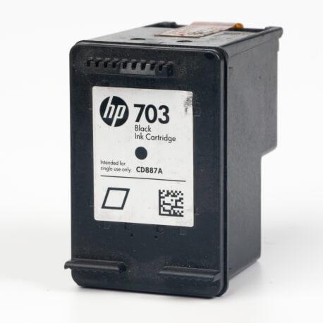 Auf dem Bild sehen Sie den ArtikelCD887AE von Hewlett-Packard. Dieses Tintenpatrone Modell eignet sich für die Wiederaufbereitung und wird daher zum Recycling angekauft.