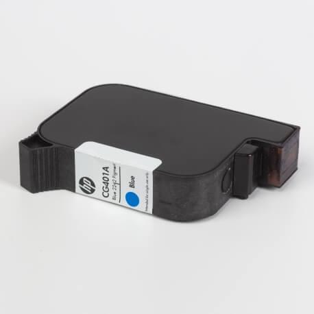 Auf dem Bild sehen Sie den ArtikelCG401A von Hewlett-Packard. Dieses Tintenpatrone Modell eignet sich für die Wiederaufbereitung und wird daher zum Recycling angekauft.