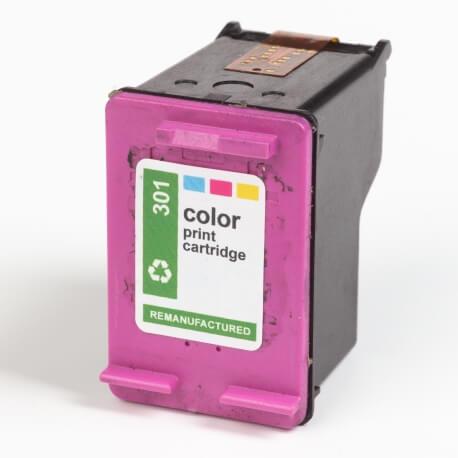Auf dem Bild sehen Sie den ArtikelCH562EE Alte Serie von Hewlett-Packard. Dieses Tintenpatrone Modell eignet sich für das Recycling und wird daher angekauft.