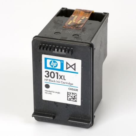 Auf dem Bild sehen Sie den ArtikelCH563EE von Hewlett-Packard. Dieses Tintenpatrone Modell eignet sich für die Wiederaufbereitung und wird daher zum Recycling angekauft.