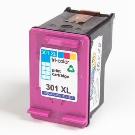 Auf dem Bild sehen Sie den Artikel CH564EE AS von Hewlett-Packard. Dieses Tintenpatrone Modell eignet sich für das Recycling und wird daher angekauft.