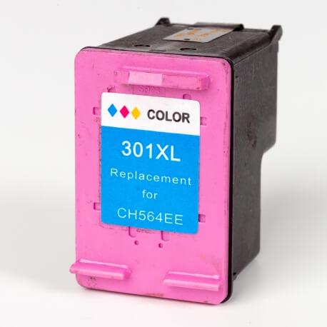 Auf dem Bild sehen Sie den ArtikelCH564EE Neue Serie von Hewlett-Packard. Dieses Tintenpatrone Modell eignet sich für das Recycling und wird daher angekauft.