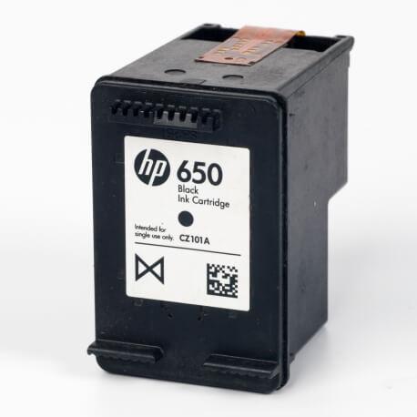 Auf dem Bild sehen Sie den ArtikelCZ101AE von Hewlett-Packard. Dieses Tintenpatrone Modell eignet sich für die Wiederaufbereitung und wird daher zum Recycling angekauft.
