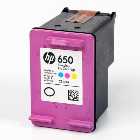 Auf dem Bild sehen Sie den ArtikelCZ102AE von Hewlett-Packard. Dieses Tintenpatrone Modell eignet sich für die Wiederaufbereitung und wird daher zum Recycling angekauft.
