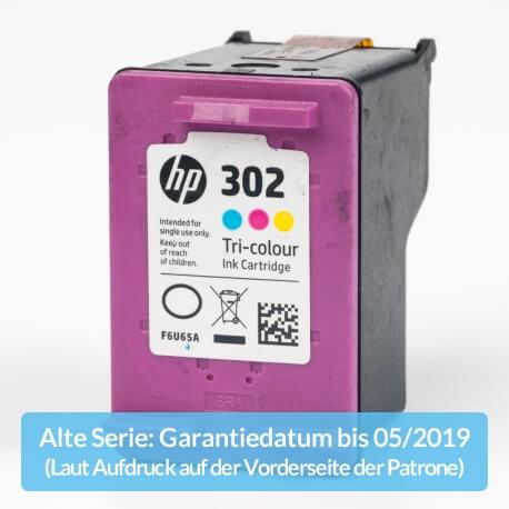 Auf dem Bild sehen Sie den ArtikelF6U65AE Alte Serie von Hewlett-Packard. Dieses Tintenpatrone Modell eignet sich für die Wiederaufbereitung und wird daher zum Recycling angekauft.