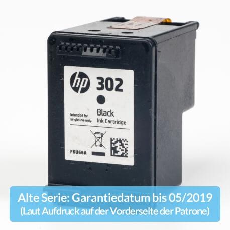 Auf dem Bild sehen Sie den ArtikelF6U66AE Alte Serie von Hewlett-Packard. Dieses Tintenpatrone Modell eignet sich für die Wiederaufbereitung und wird daher zum Recycling angekauft.