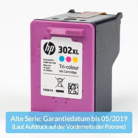 Auf dem Bild sehen Sie den ArtikelF6U67AE Alte Serie von Hewlett-Packard. Dieses Tintenpatrone Modell eignet sich für die Wiederaufbereitung und wird daher zum Recycling angekauft.
