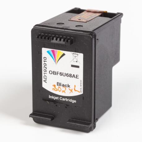 Auf dem Bild sehen Sie den Artikel F6U68AE AS von Hewlett-Packard. Dieses Tintenpatrone Modell eignet sich für das Recycling und wird daher angekauft.