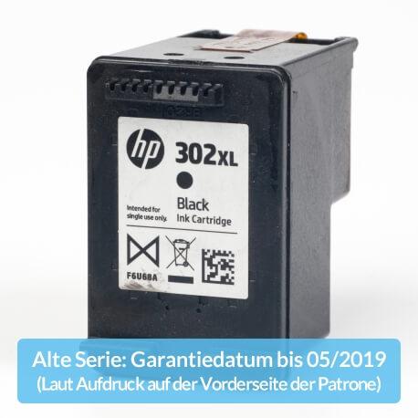 Auf dem Bild sehen Sie den ArtikelF6U68AE Alte Serie von Hewlett-Packard. Dieses Tintenpatrone Modell eignet sich für die Wiederaufbereitung und wird daher zum Recycling angekauft.