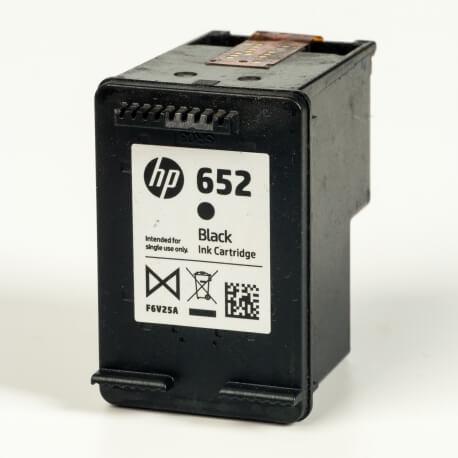 Auf dem Bild sehen Sie den ArtikelF6V25AE von Hewlett-Packard. Dieses Tintenpatrone Modell eignet sich für die Wiederaufbereitung und wird daher zum Recycling angekauft.