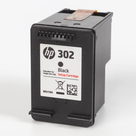 Auf dem Bild sehen Sie den ArtikelN9J10AE Setup von Hewlett-Packard. Dieses Tintenpatrone Modell eignet sich für die Wiederaufbereitung und wird daher zum Recycling angekauft.
