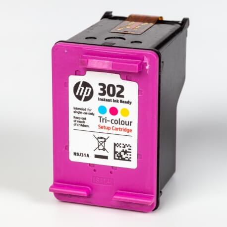 Auf dem Bild sehen Sie den ArtikelN9J31AE Instant von Hewlett-Packard. Dieses Tintenpatrone Modell eignet sich für die Wiederaufbereitung und wird daher zum Recycling angekauft.