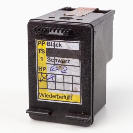 Auf dem Bild sehen Sie den Artikel N9J45AE Setup von Hewlett-Packard. Dieses Tintenpatrone Modell eignet sich für das Recycling und wird daher angekauft.