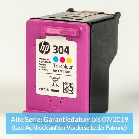 Auf dem Bild sehen Sie den ArtikelN9K05AE Alte Serie von Hewlett-Packard. Dieses Tintenpatrone Modell eignet sich für die Wiederaufbereitung und wird daher zum Recycling angekauft.