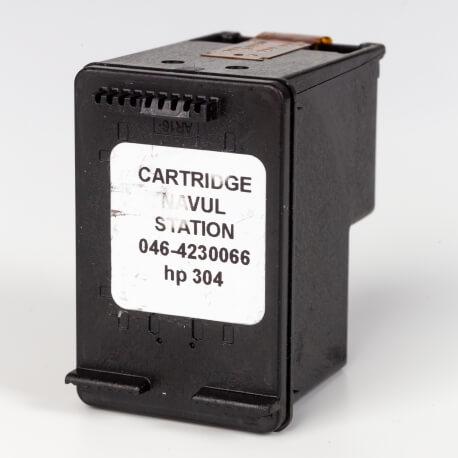 Auf dem Bild sehen Sie den ArtikelN9K06AE Alte Serie von Hewlett-Packard. Dieses Tintenpatrone Modell eignet sich für das Recycling und wird daher angekauft.