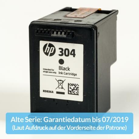Auf dem Bild sehen Sie den ArtikelN9K06AE Alte Serie von Hewlett-Packard. Dieses Tintenpatrone Modell eignet sich für die Wiederaufbereitung und wird daher zum Recycling angekauft.